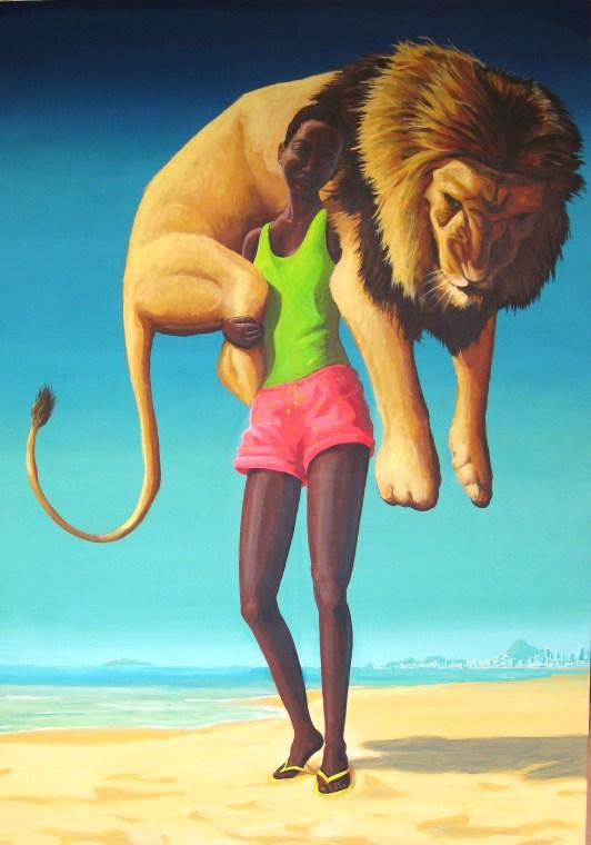 power, 170 x 120 cm, acrylic on canvas