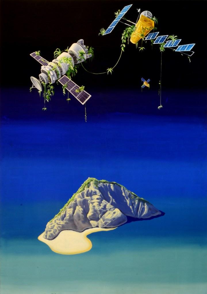 communication, 170 x 120 cm, acrylic on canvas