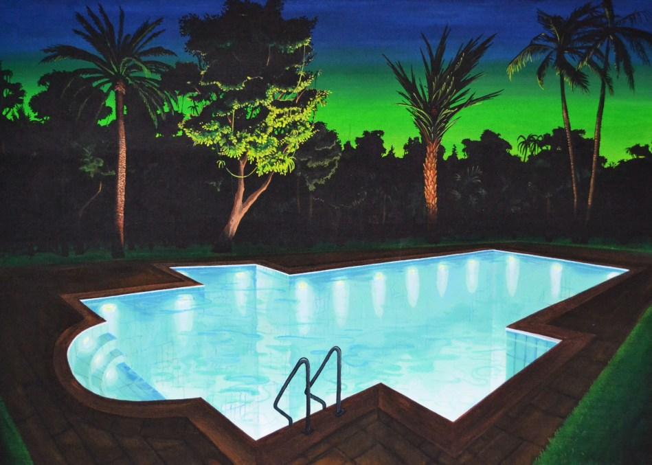 Ghetsemane, 120 x 170cm, acrylic on canvas