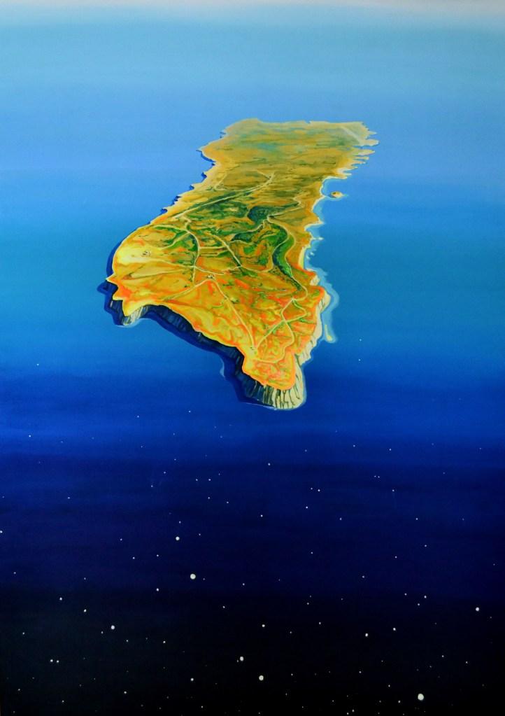 oblivion, 170 x 120 cm, acrylic on canvas